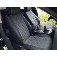 Модельные авточехлы Hyundai Solaris 2010-2017 седан (алькантара ромб)