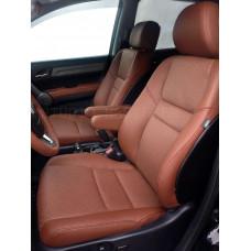 Перетяжка одного сидения автомобиля (экокожа